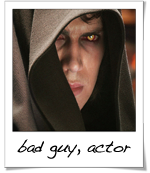 Hayden Christensen as Anakin Skywalker/Darth Vader