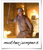 Jumper starring Samuel L. Jackson and some other guy