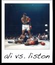 Muhammad Ali vs. Sonny Liston - Neil Leifer - 1965
