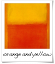 Orange and Yellow - Mark Rothko - 1956