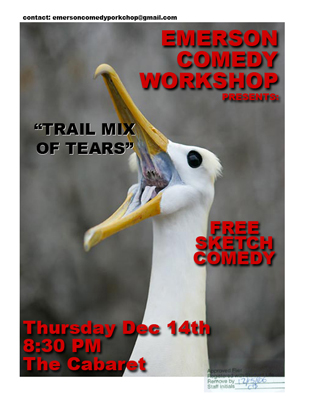 Trail Mix of Tears Flyer