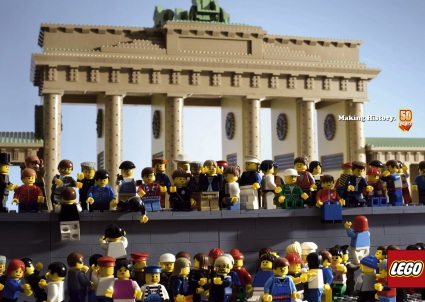 Lego Fall of the Berlin Wall