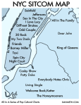 nyc sitcom map